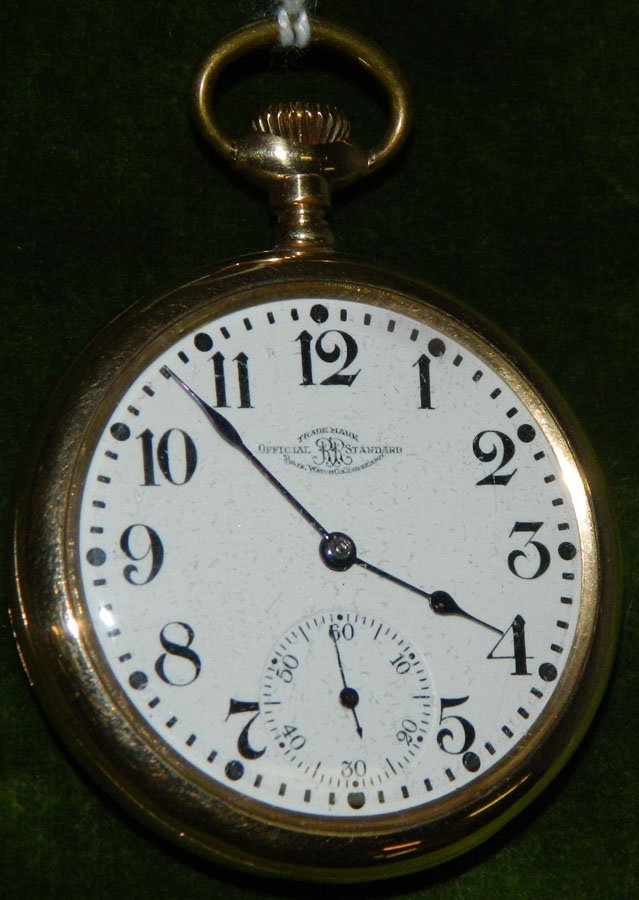 Pocket watch by Ball Watch Co.