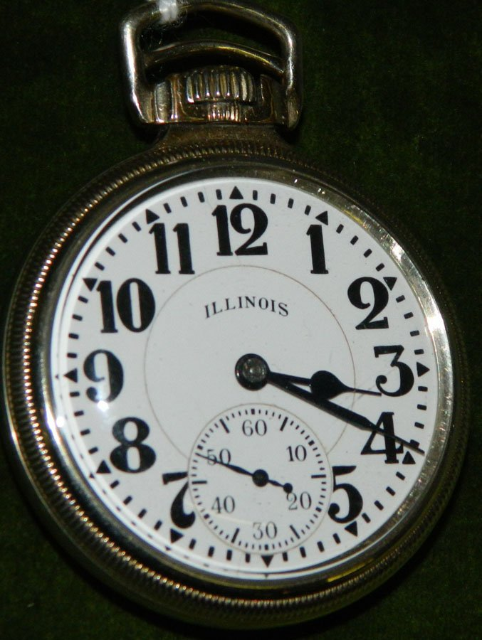 Pocket watch by Illinois Watch Co.