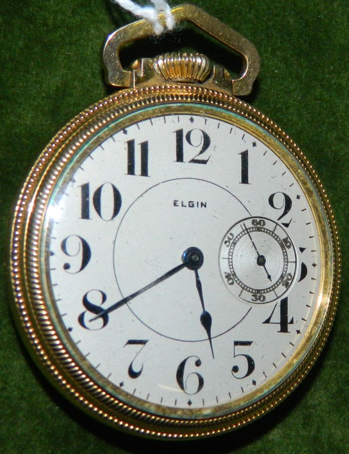 Pocket watch by Elgin National Watch Co.