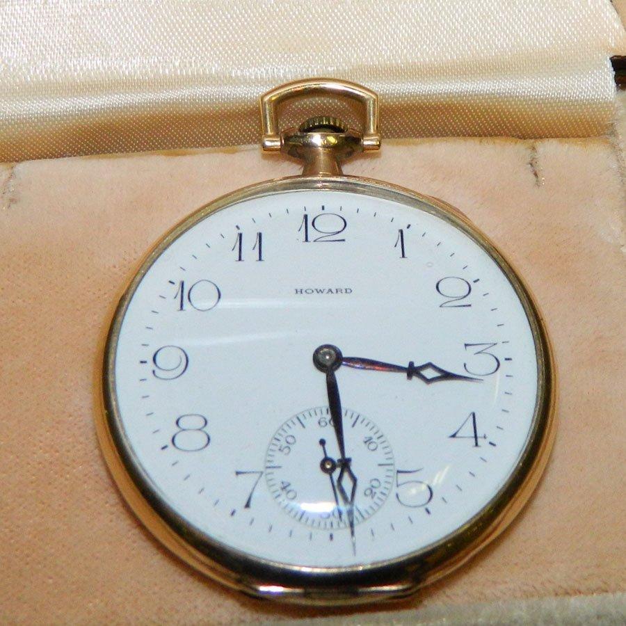 Keystone pocket watch by Howard.