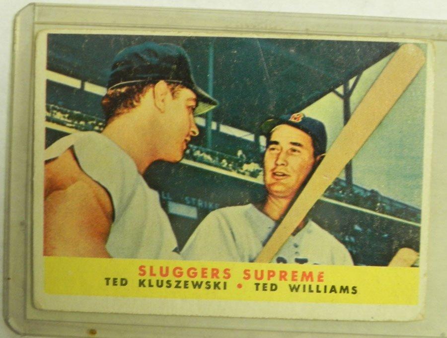 1958 Topps Sluggers Supreme #321