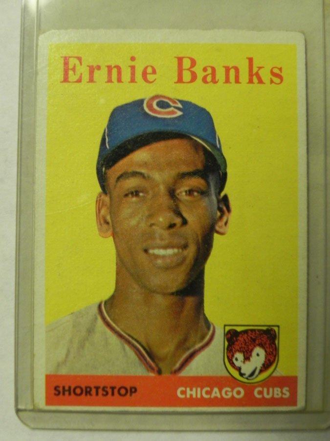 1958 Topps Ernie Banks #310