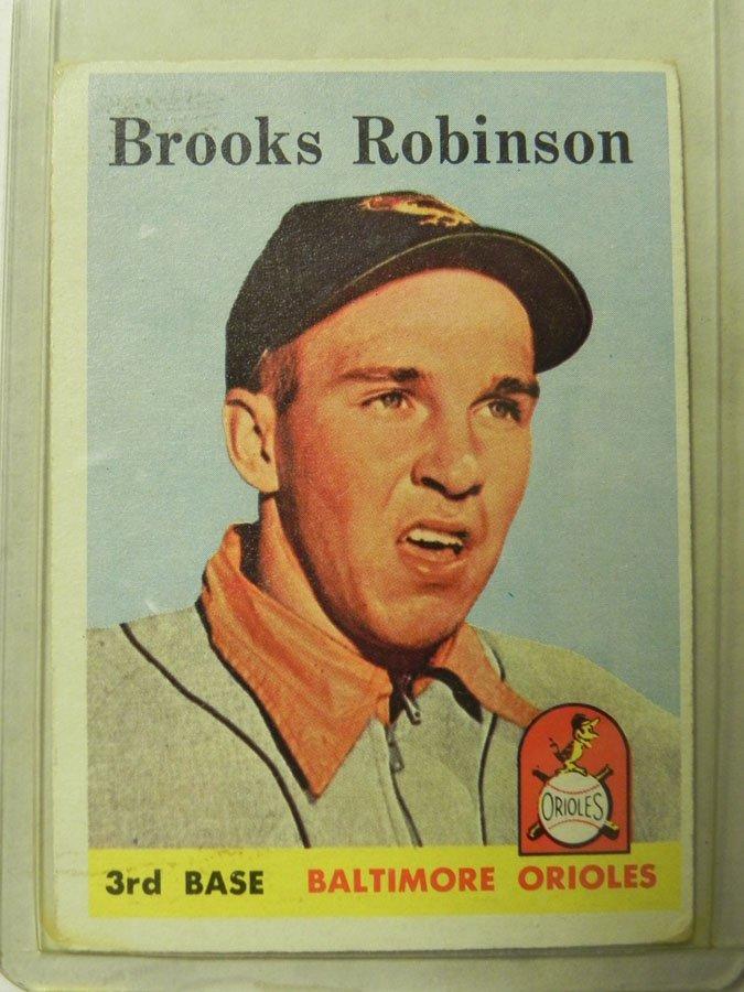 1958 Topps Brooks Robinson #307