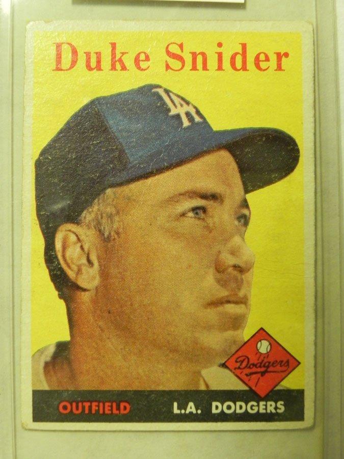 1958 Topps Duke Snider #88