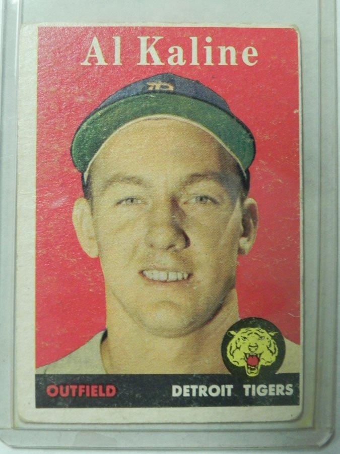 1958 Topps Al Kaline #70A