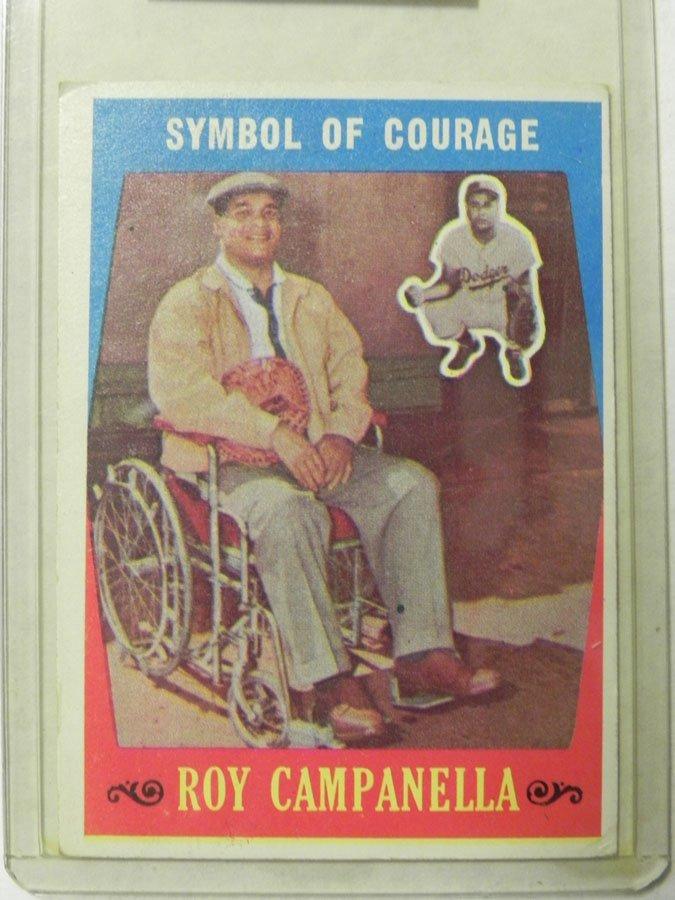 1959 Topps Roy Campanella #550
