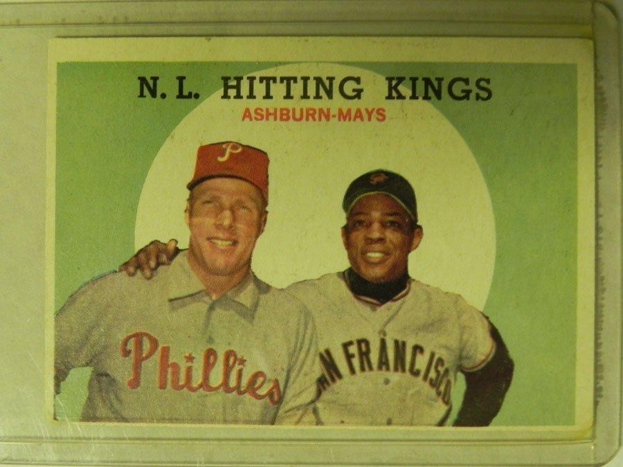 1959 Topps NL Hitting Kings # 317