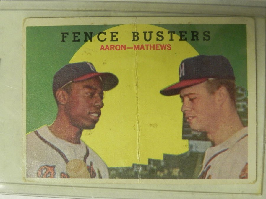 1959 Topps Fence Busters #212