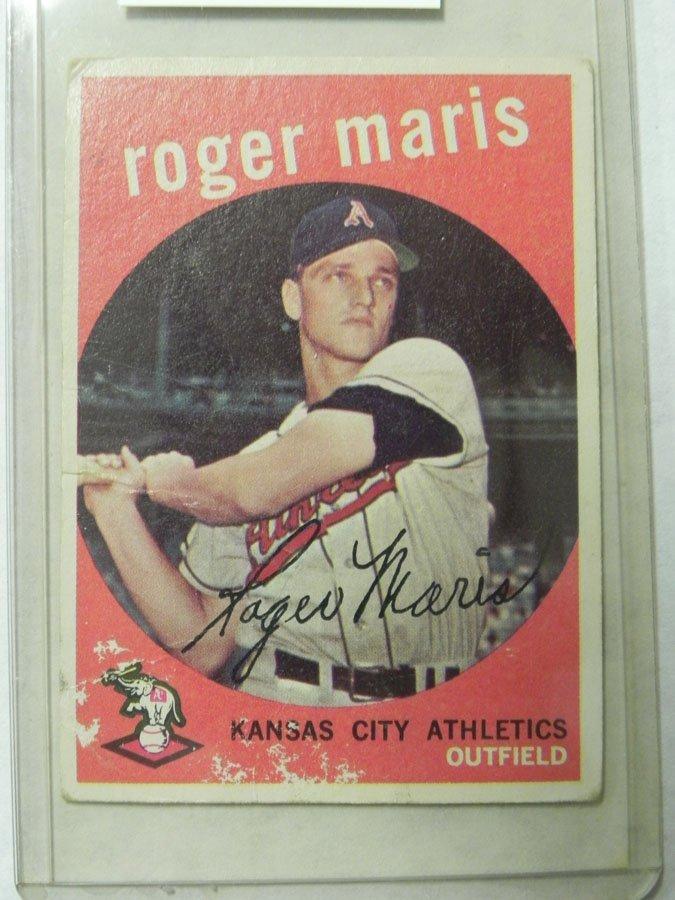 1959 Topps Roger Maris #202