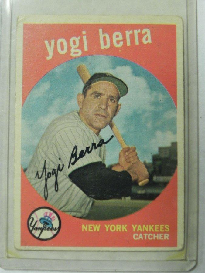 1959 Topps Yogi Berra #180