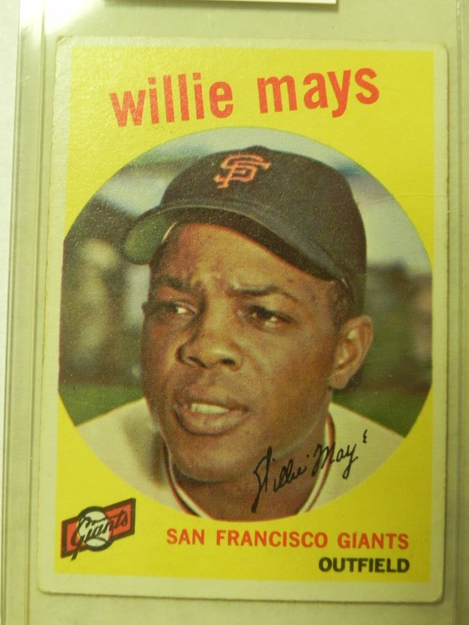 1959 Topps Willie Mays #50