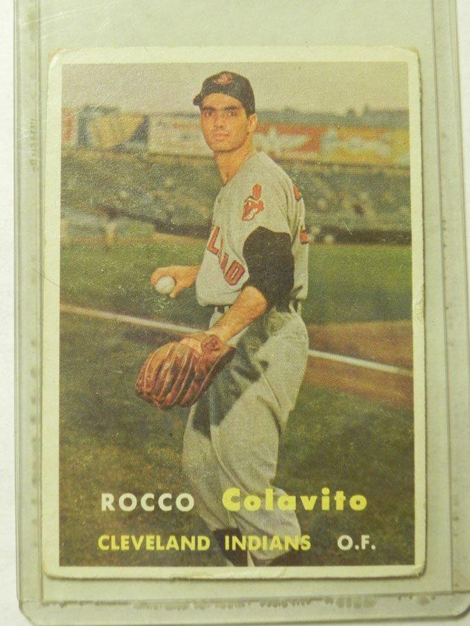 1957 Topps Rocco Colavito #212