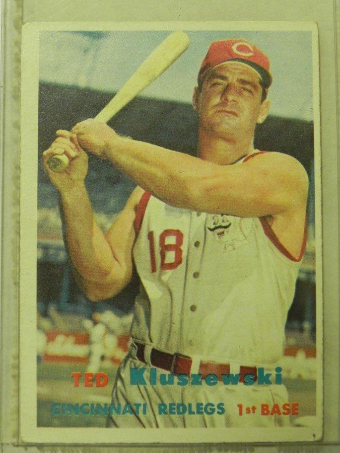 1957 Topps Ted Kluszewski #165