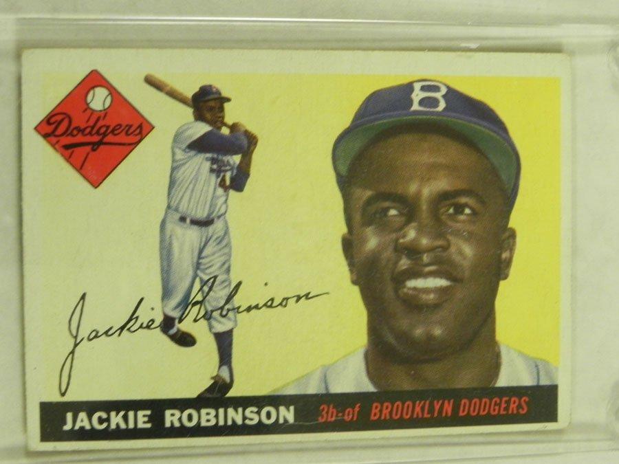 1955 Topps Jackie Robinson #50
