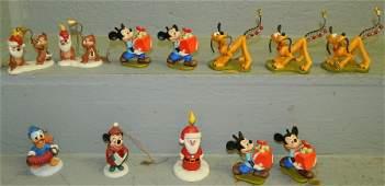 12 Disney Pluto Christmas Tree ornaments