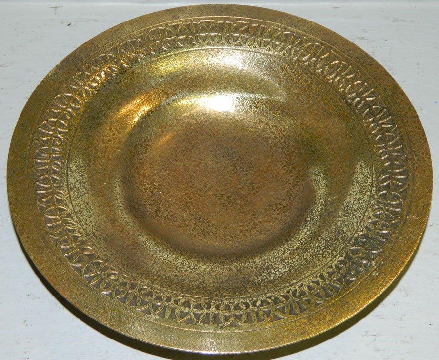 Tiffany Studios #1707 Dore' Bronze Bowl