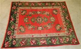 "Large antique Persian rug. 10'2"" x 8"""