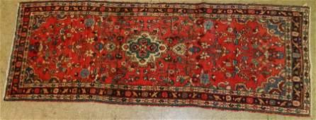 """3'7"""" x 10' antique Persian rug"""