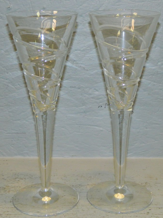 2 Jasper Cornan Wedgwood flutes