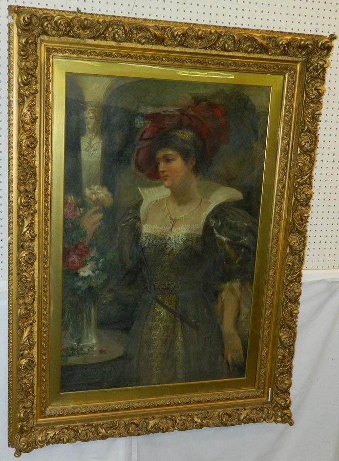 """OOC """"Lady of the Century"""" signed F.L. Kirkpatrick"""
