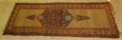 """8'7"""" x 3'5"""" antique Persian rug"""