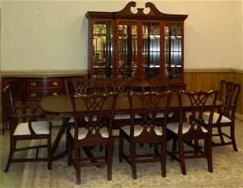 Henkel Harris 11 pc.Mahogany dining room set