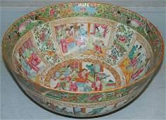 19th C. Rose Mandarin bowl.