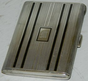 Art Deco Sterling Tiffany Card Case