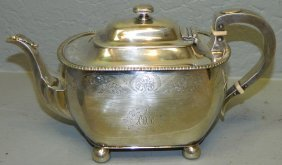 Towle Sterling Tea Pot.