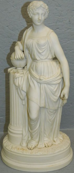 19th C. Parian Classical Figure.