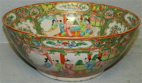 """Rose Medallion bowl - 10 1/2"""" dia."""