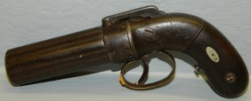Allen And Thurber Percussion Pepperbox Pistol .32