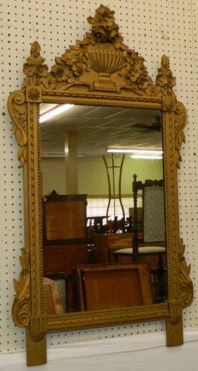 Ornate Italian Gilt Decorated Mirror.