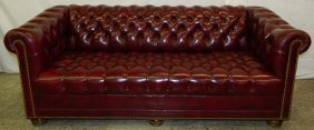 Exceptional Hancock And Moore Chesterfield Sofa