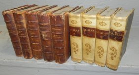 9 Quarter Leather Bound Books