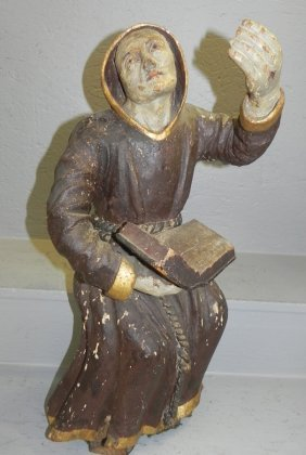 18th C. Continental Santos Figure.
