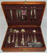 45 Pcs Towle Candlelight sterling flatware