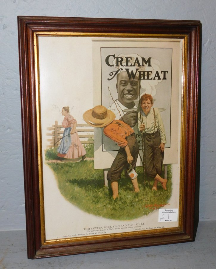Cream of Wheat Tom Sawyer 1913 advertisement.