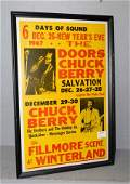 Fillmore Berry Doors and Big Brother 67 poster
