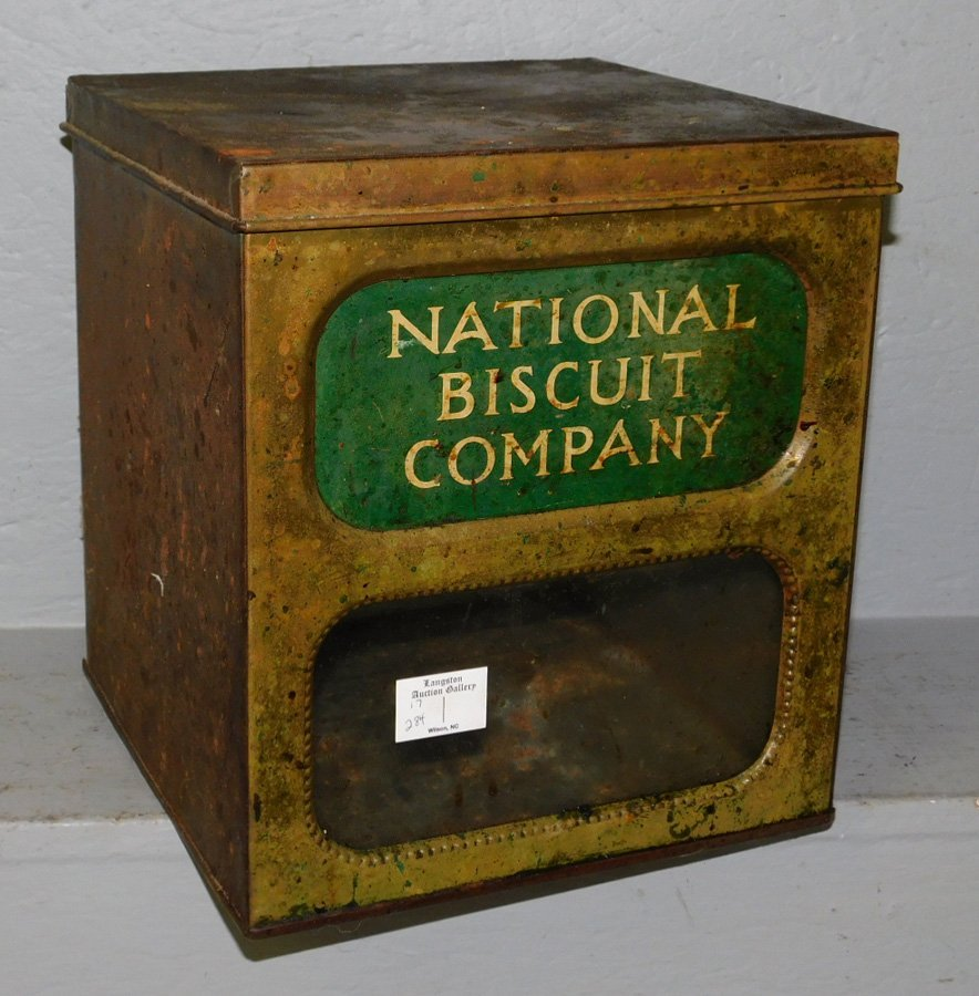 National Biscuit Company Tin.