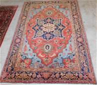 9' x 14' Heriz Persian rug