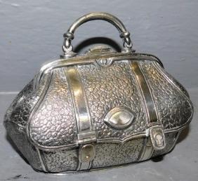 Wilcox Mechanical miniature doctors bag.