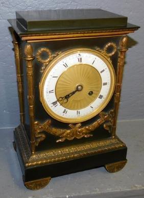 Elkington Bracket Clock With French Movement
