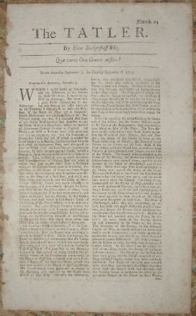 16: 18th Century Newspapers