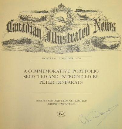 18: Canadian Illustrated News Commemorative Facsimile