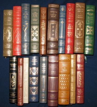 21: Franklin Library Books