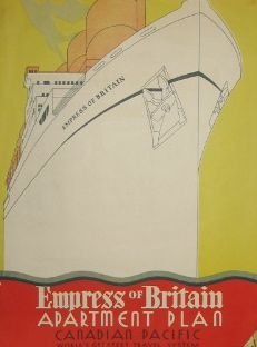23: Canadian Pacific Empress of Britain Brochure