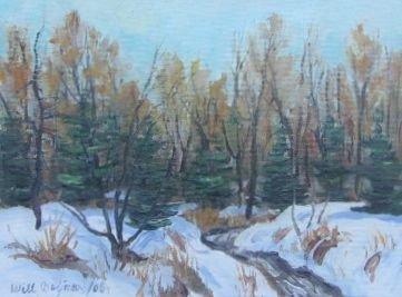 003: Will Beljaars Oil Painting Quebec