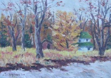 004: Will Beljaars Oil Painting Vaudreuil-Dorion