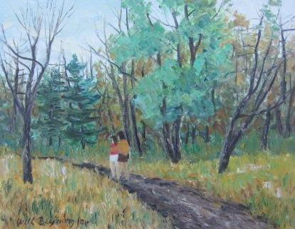 005: Will Beljaars Oil Painting Montreal